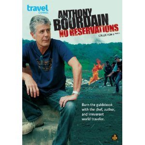 The Travel Channel's Anthony Bourdain No Reservations is available on DVD