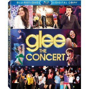 Glee the Concert on DVD and Blu-Ray