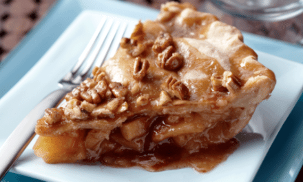 Recipes:  Nutty Caramel Apple Pie Recipe