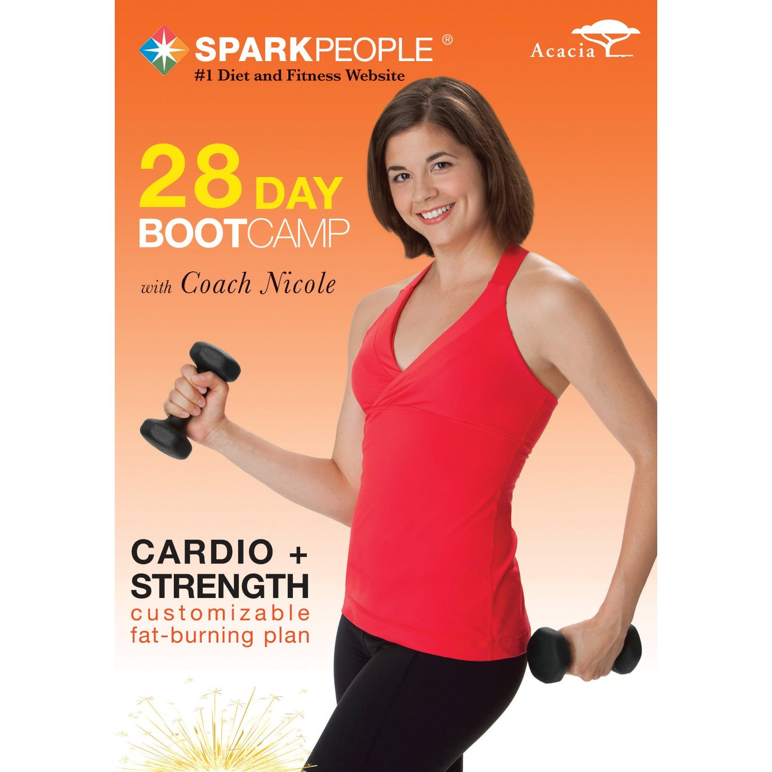 Coach Nicole's SparkPeople 28-day Boot Camp DVD