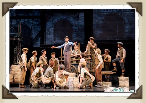 Newsies the Musicial on Broadway Production Stills - Limited engagement begins March 2012