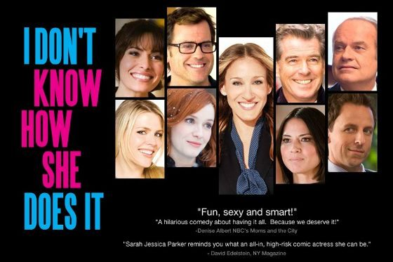 I Don't Know How She Does It Movie Cast