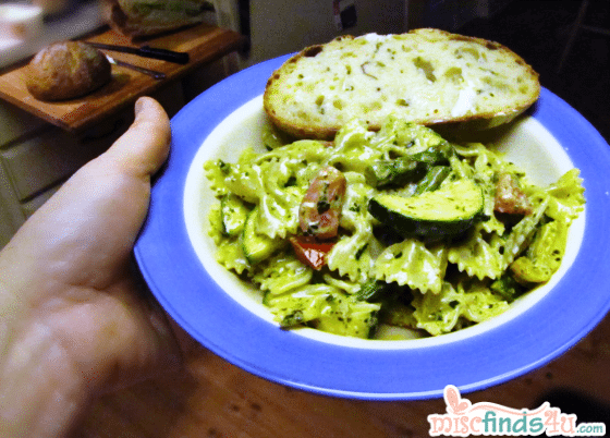Creamy Pesto Vegetarian Pasta Recipe