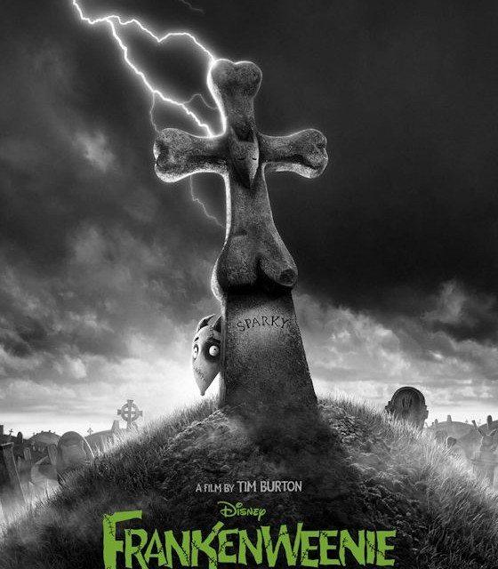 Tim Burton – Disney FRANKENWEENIE  One-Sheet Poster Released