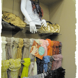 Scarves in so many colors, fabrics, patterns, and styles