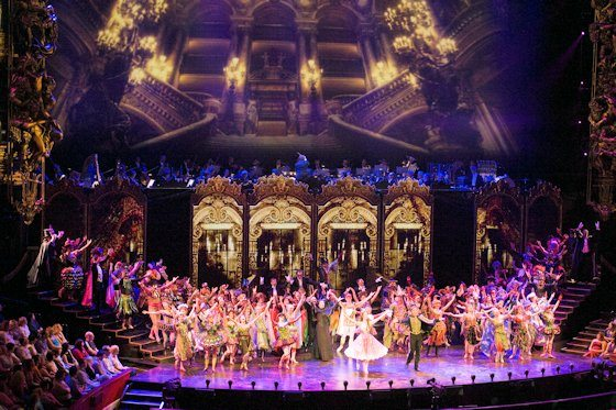 This lavish production, staged in the sumptuous Victorian splendor of London's Royal Albert Hall, marked the 25th anniversary year of The Phantom of the Opera, a show that has been seen in 145 cities in 27 countries, played to more than 130 million people and won more than 50 major theatre awards. Courtesy of Alastair Muir