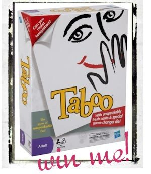 New Taboo Game Review and Giveaway
