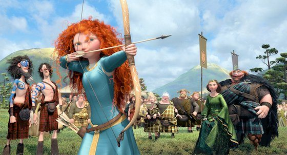 Disney Pixar BRAVE Photo Gallery and Movie Synopsis