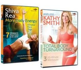 Two New Exercise Videos to Get You Moving by Kathy Smith and Shiva Rea