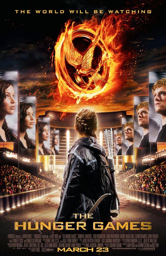 The Hunger Games One Sheet Poster