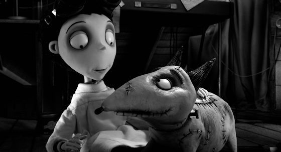 Newely released movie stills from Disney's FRANKENWEENIE