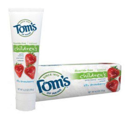 Tom's of Maine Silly Strawberry toothpaste Review - anniekabourek | skitch.com