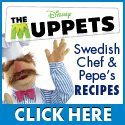 Download FREE Printable Muppets Recipes!