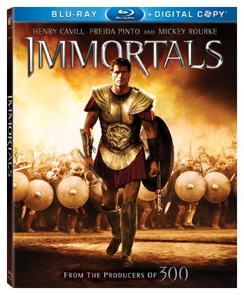 Immortals 3d movie review