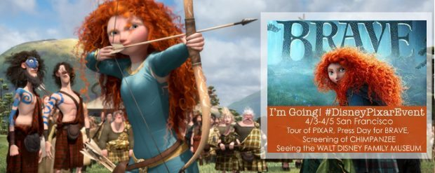 Pixar's BRAVE heads into theaters June 2012