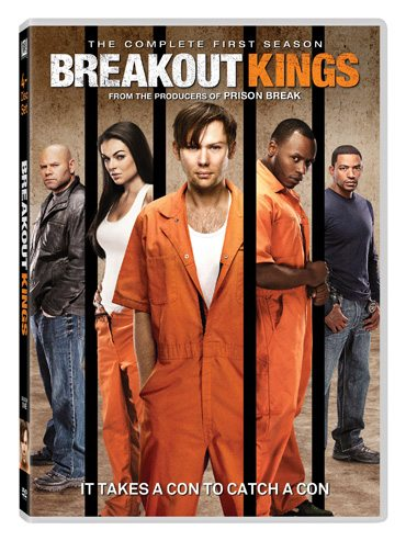 Breakout Kings Season 1 is available on DVD