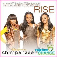 McClain Sisters RISE for Disneynature CHIMPANZEE
