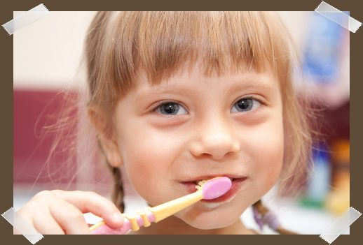 Start children brushing early and they'll have a lifetime of great dental health