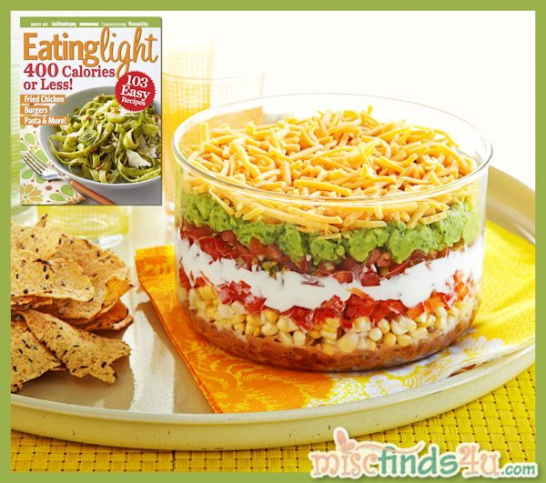 Recipe: Light and Fresh 7-Layer Mexican Dip – Just 100 Calories!