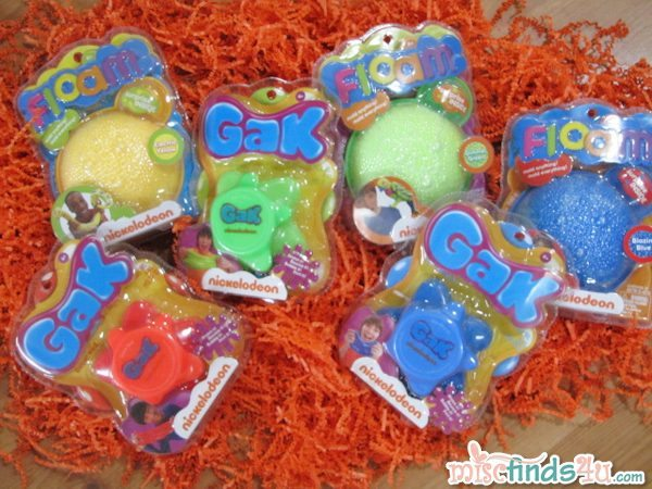 Nickelodeon Floam and Gak Prize Pack