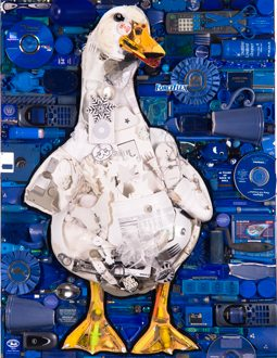 "Jason Mecier Original ""Wild Life"" Duck Artwork presented by GLAD Black Bag Proceeds benefit Keep America Beautiful"