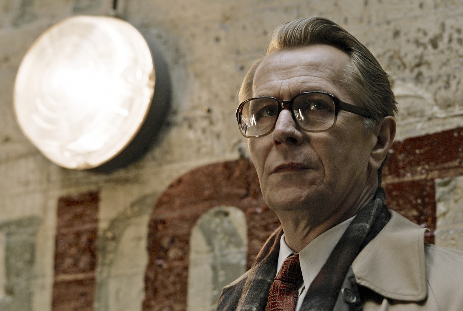 Gary Oldman as British agent George Smiley