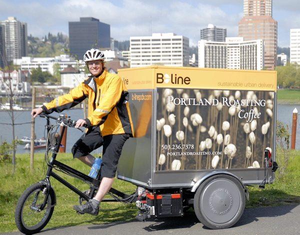 Portland Roasting Company Urban Delivery Bike
