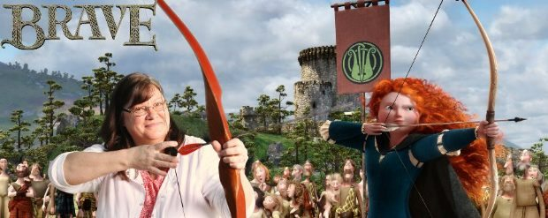 Movies: BRAVE Press Day at Pixar Studios – Archery Range Photos #DisneyPixarEvent