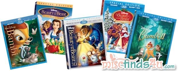 Disney Vault Titles - April 30, 2012