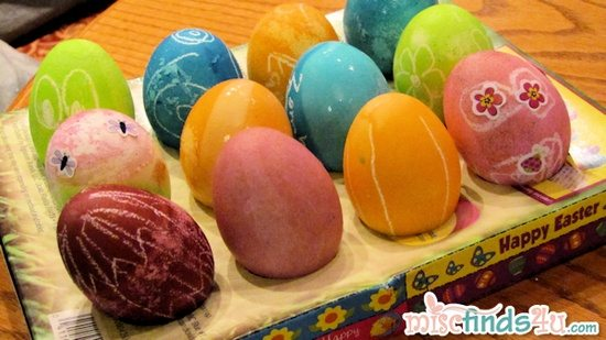 Easter Egg Dying Hints and Tips