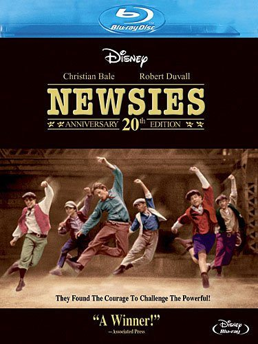 Newsies 20th Anniversary Blu-ray Edition
