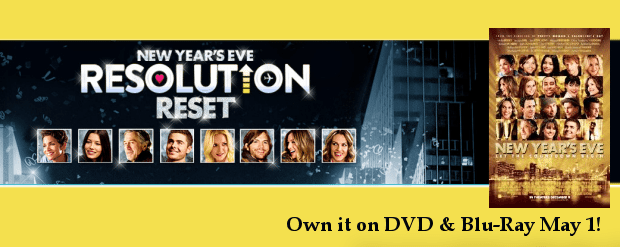 Resolution Reset! NEW YEAR'S EVE on Home Video