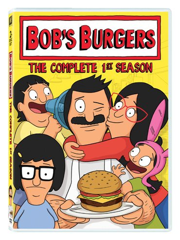 Bob's Burgers The Complete 1st Season available now on DVD