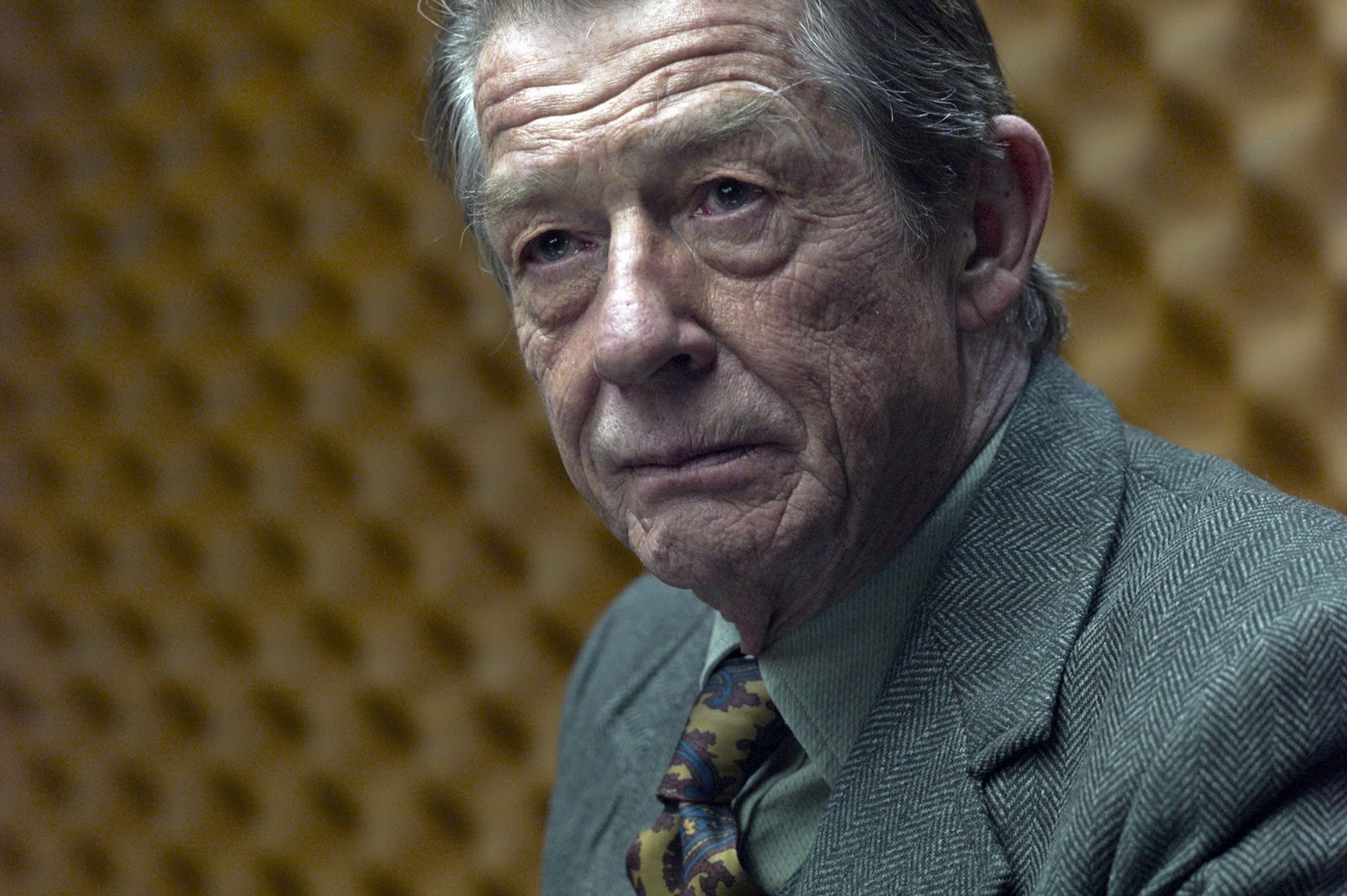 "John Hurt is ""Control"" in Tinker Tailor Soldier Spy"