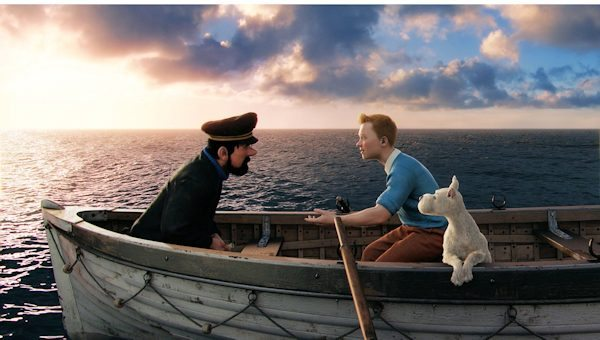 Scene from The Adventures of TinTin Film - produced by Stephen Spielberg - 2012
