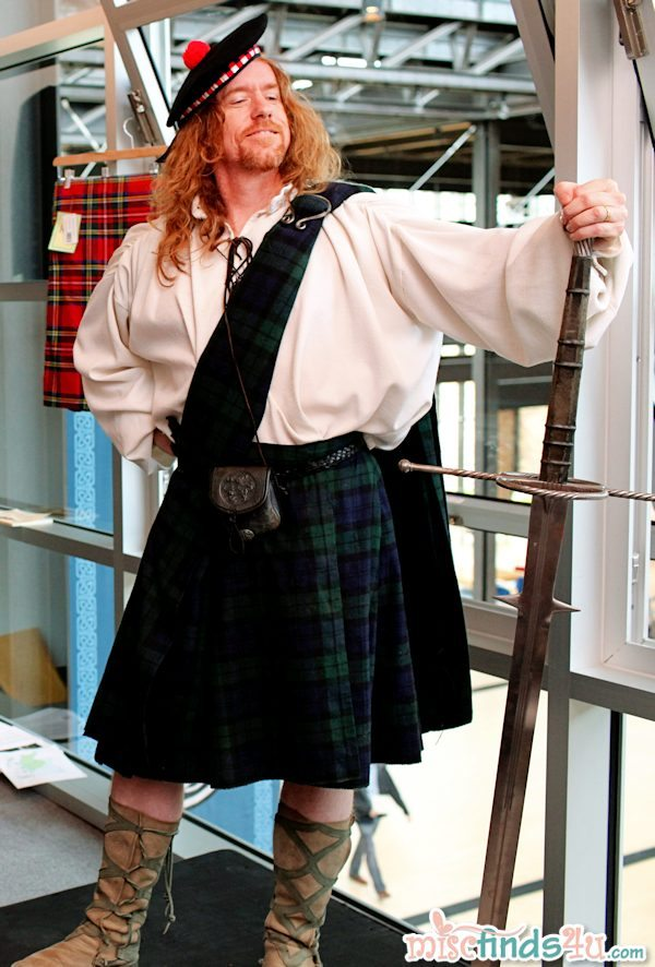Man enough to wear a Kilt? I say yes!