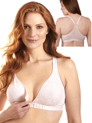 Crossover Front Closure Racer Back Leisure Bra (5048)