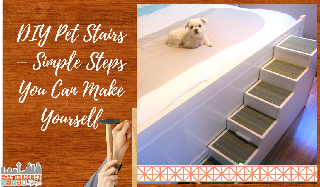 Delicieux DIY Pet Stairs U2013 Simple Steps You Can Make Yourself