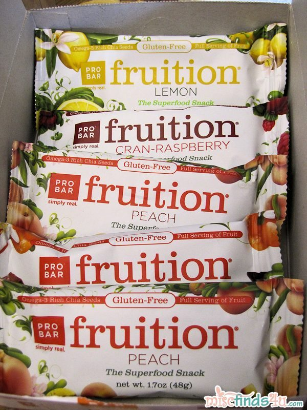 PROBAR fruition Snack Bar Flavors
