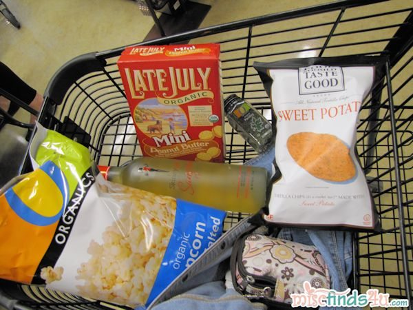 My shopping cart where I scored a 9% savings!