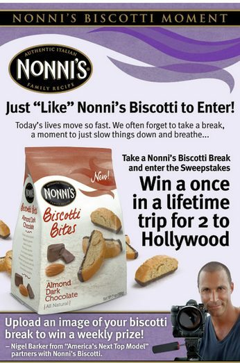 Nonni's Biscotti Cookie Review and Sweepstakes