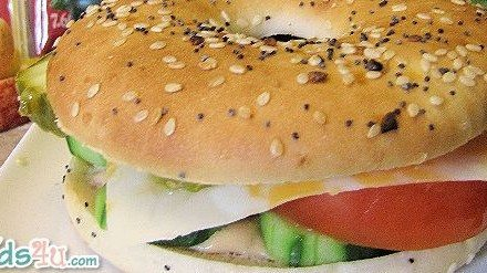 Sargento Ultra Thin Cheese Vegetarian Bagel Sandwich Ideas