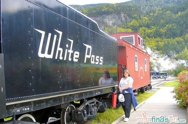 White Pass Train  - Skagway AK