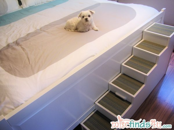 Diy Pet Stairs Dog Steps Complete With Paint And Carpet