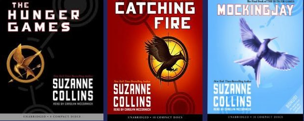 AudioBook Recommendations – The Hunger Games Trilogy