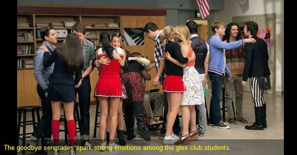 Check out more Glee Season 3 Finale Photos and yearbook videos and more at the official Glee website  (Good-bye Graduation episode)