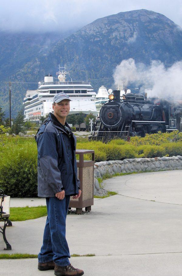 Train & Cruise Ship - Skagway AK