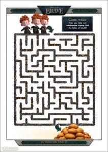 Disney BRAVE Movie free download - Triplets Maze
