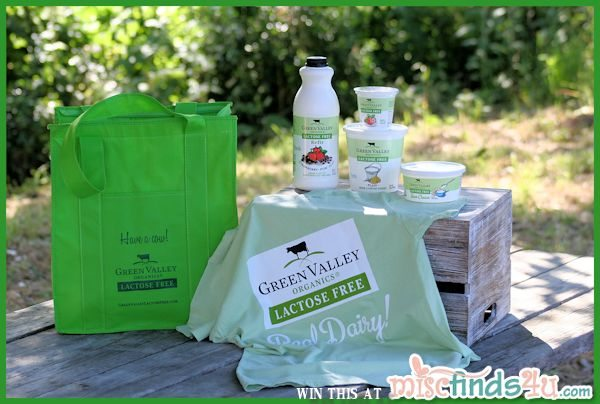 Win $50 of Green Valley Organics and Redhill Farm Products plus an insulated bag and t-shirt!