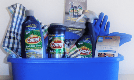 Stainless Steel Cleaner – Three New Cleaners Powered by Comet